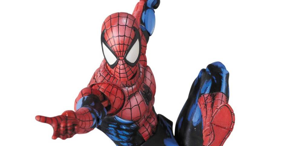 MAFEX Comic Paint Spider Man 003