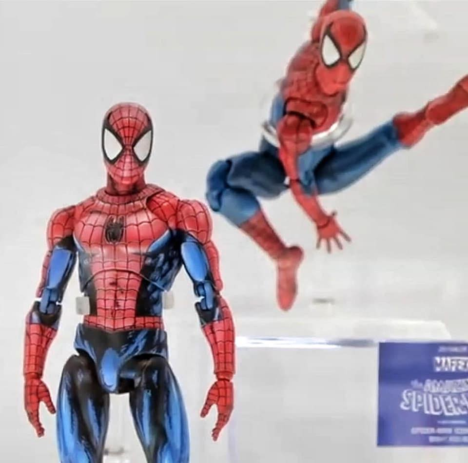 MAFEX Comic Spider Man 001