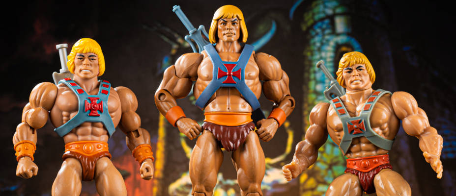 SDCC MOTU Origins He-Man and Prince Adam 2 Pack - In Hand Gallery!