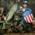 Marvel Legends Captain America and Motorcycle 004