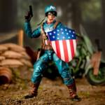 Marvel Legends Captain America and Motorcycle 007