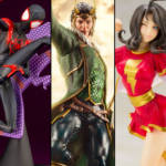 Marvel and DC Koto Statues Banner