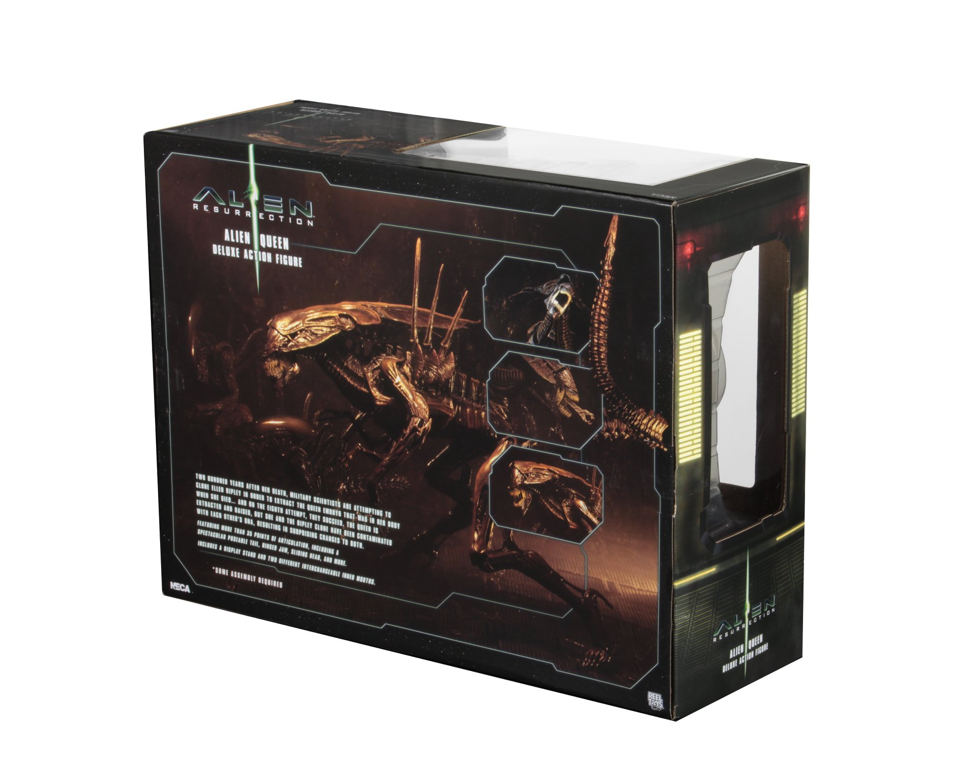 NECA Alien Resurrection Queen Packaging 003