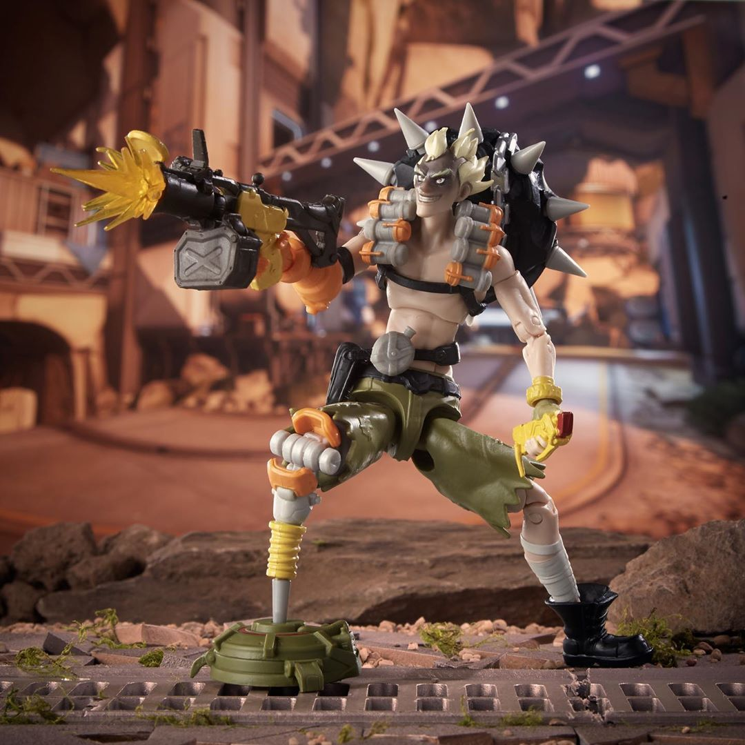 Overwatch Ultimates Junkrat