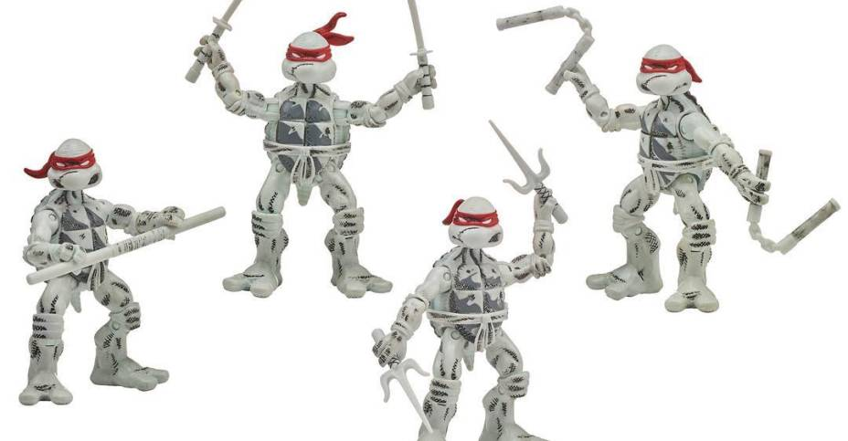 Playmates BW TMNT Set 005