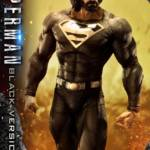 Prime 1 Black Suit Superman Statue 011