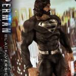 Prime 1 Black Suit Superman Statue 017