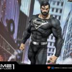 Prime 1 Black Suit Superman Statue 042