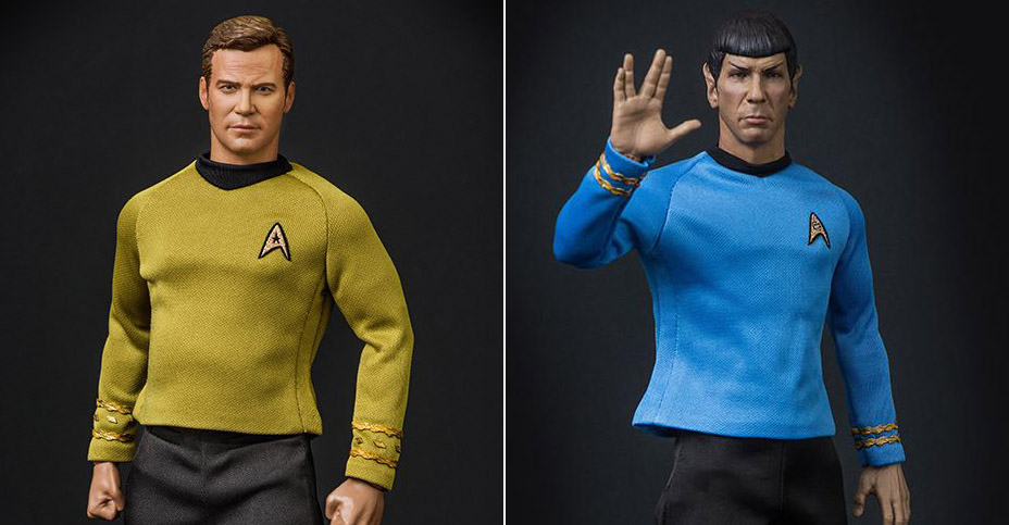 QMx Kirk and Spock Reissue