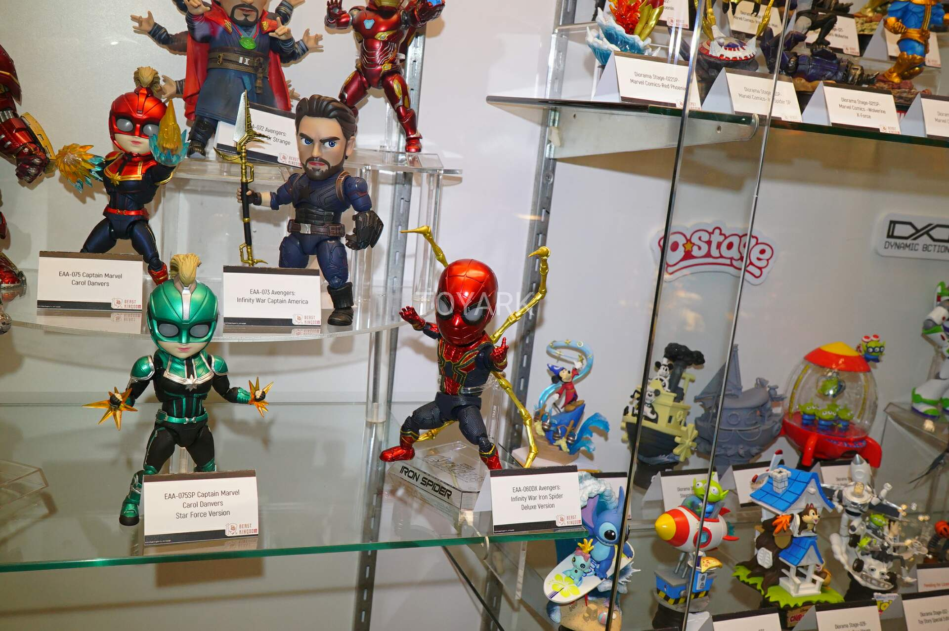 Sdcc 2019 Beast Kingdom Dc Marvel Toy Story And More The