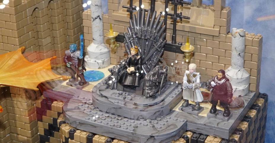 SDCC 2019 Mega Construx Game of Thrones 016
