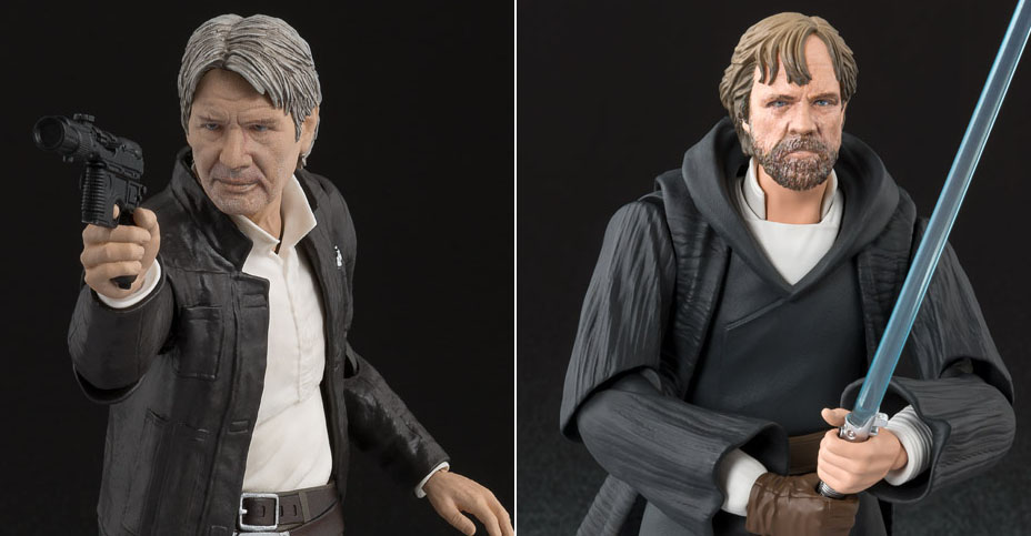 SH Figuarts Han and Luke