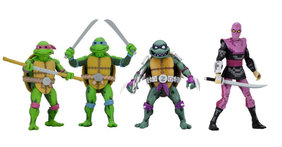 TMNT Turtles In Time Figures 001