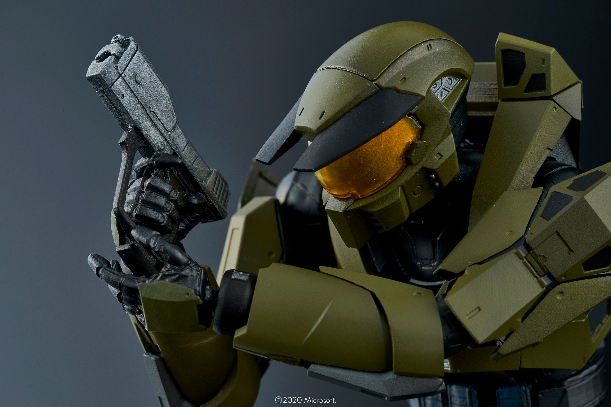 Halo Re Edit Master Chief 1 12 Scale Figure By 1000toys The