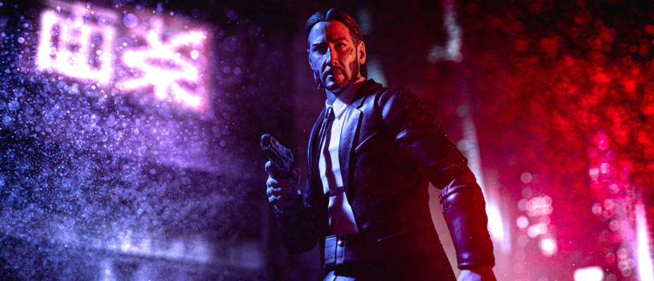 Early Look: John Wick Select from Diamond Select Toys In-Hand Gallery