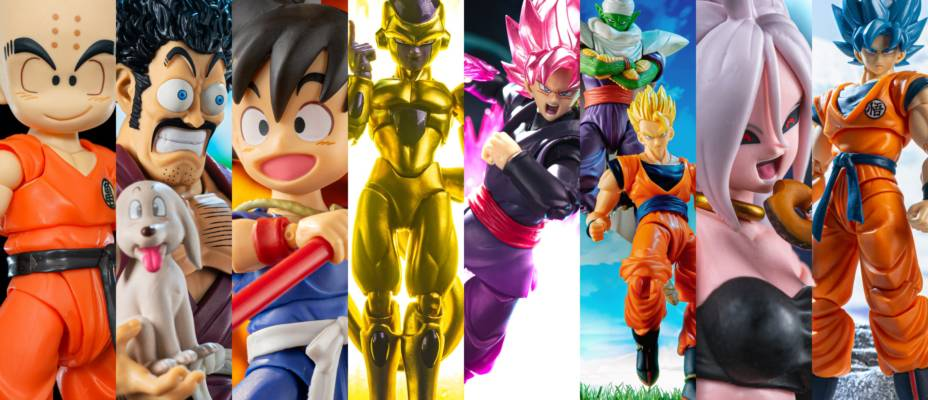 S.H. Figuarts Dragon Ball Mega Update - 8 Figures and 300+ Pictures!
