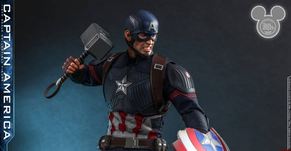 Hot Toys Worthy Captain America 002