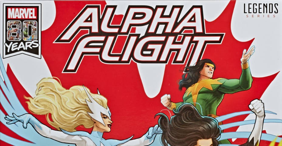 Marvel Legends Series 6 Inch Alpha Flight 6 Pack in pck 2