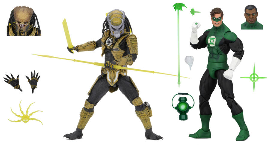 NYCC Green Lantern vs Predator 2 Pack 001