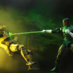 NYCC Green Lantern vs Predator 2 Pack 002