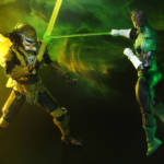 NYCC Green Lantern vs Predator 2 Pack 005