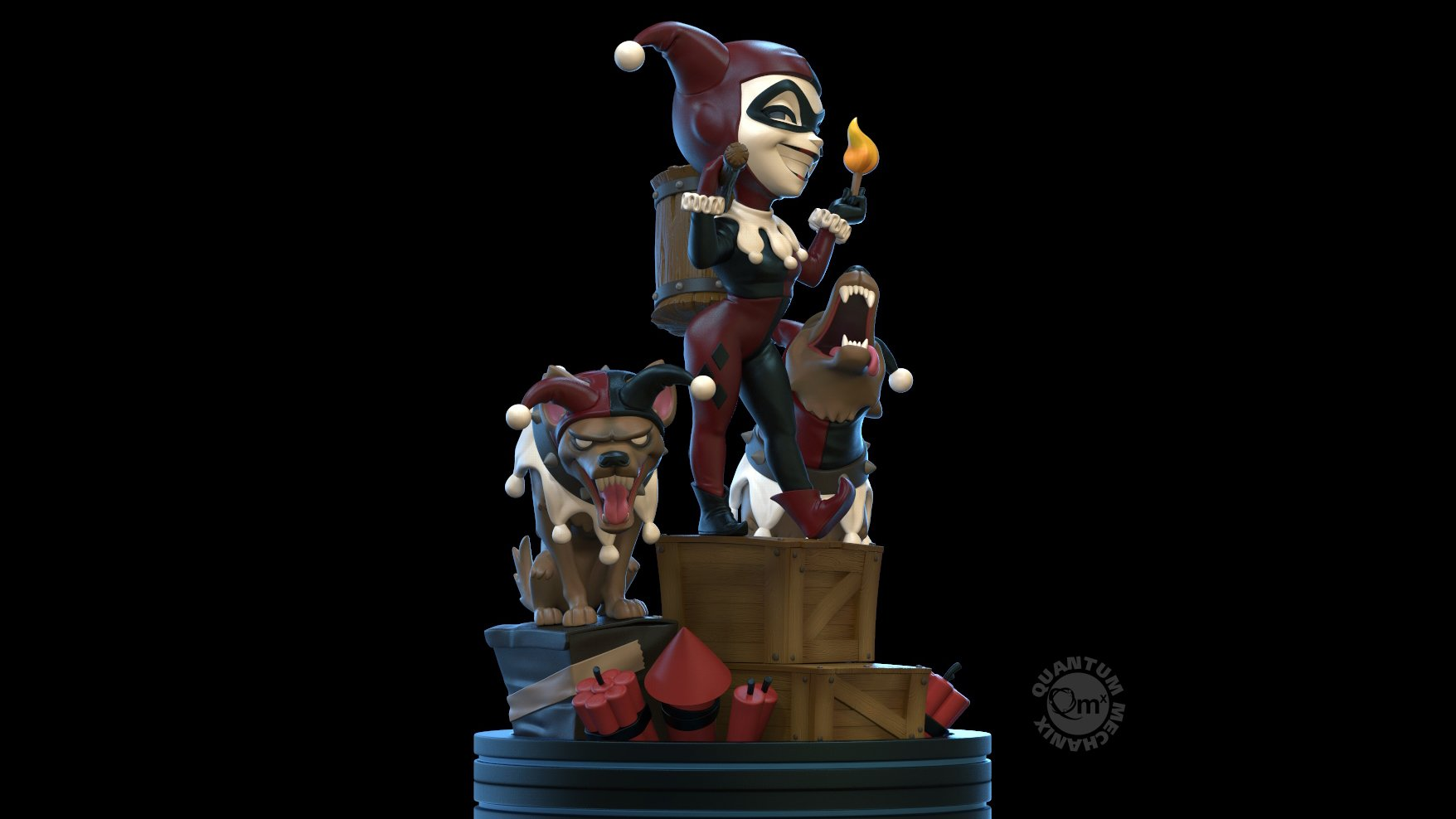 QMx Harley Quinn Q Fig Remastered 006