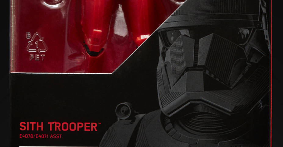 STAR WARS THE BLACK SERIES 6 INCH SITH TROOPER Figure in pck 1