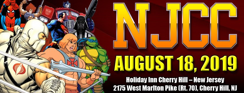 New Jersey Collectors Con Summer Show Update August 18th 2019