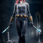 ARTFX Premier Black Widow 001