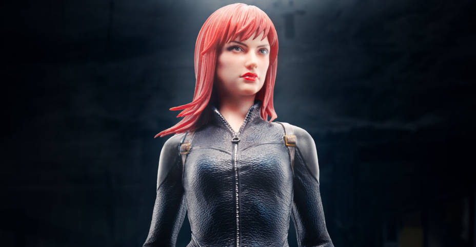 ARTFX Premier Black Widow 011