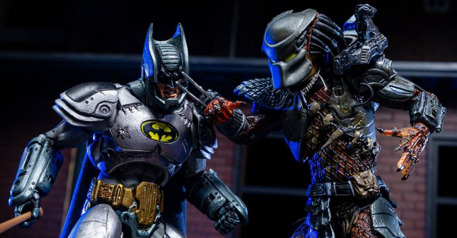 Batman vs Predator Set 046