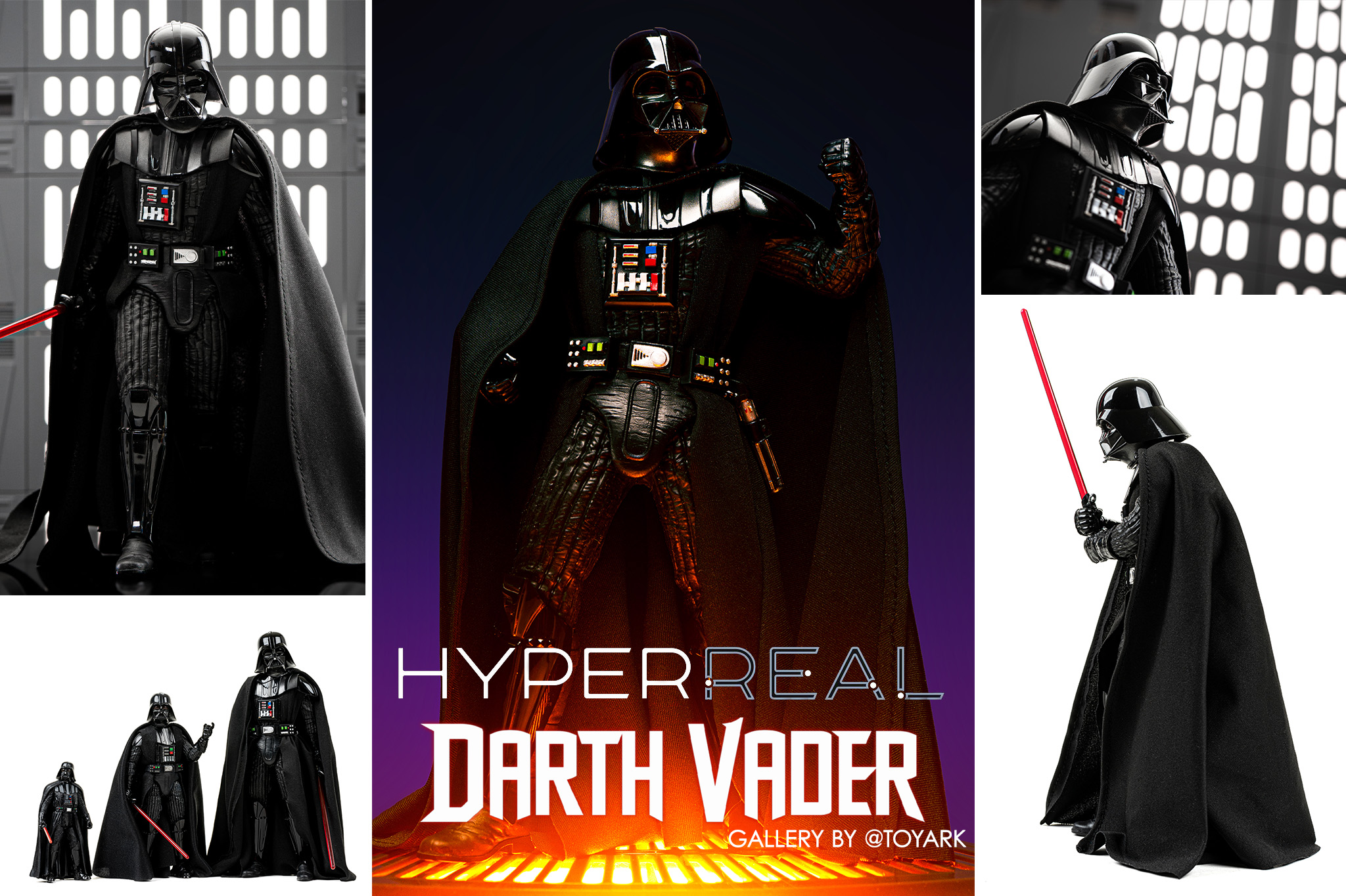 Star Wars Black Series Hyper Real Darth Vader