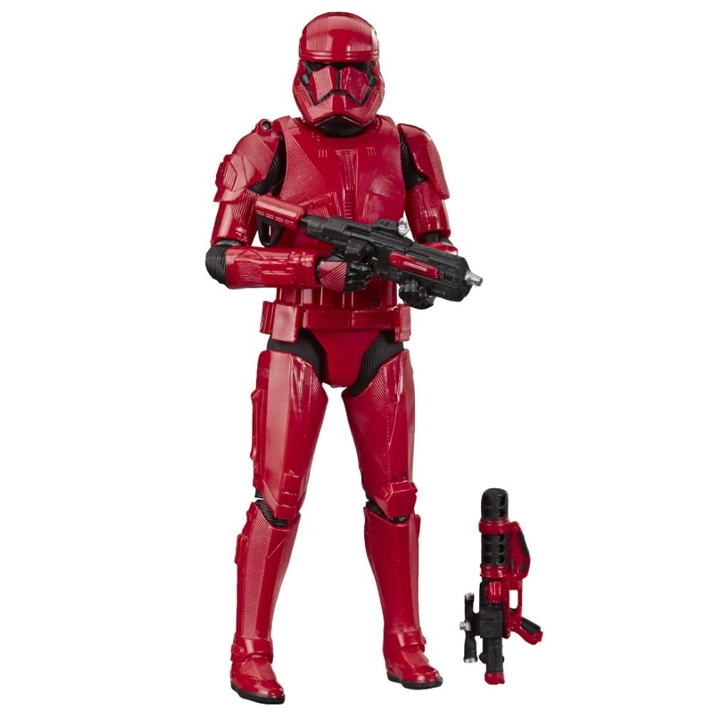 Hasbro STAR WARS Black Series Red SITH TROOPER Exclusive IN HAND SDCC 2019