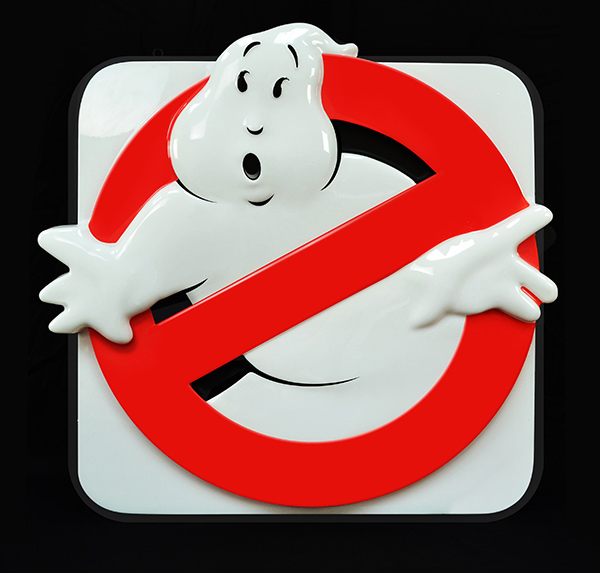 Ghostbusters Sign 001