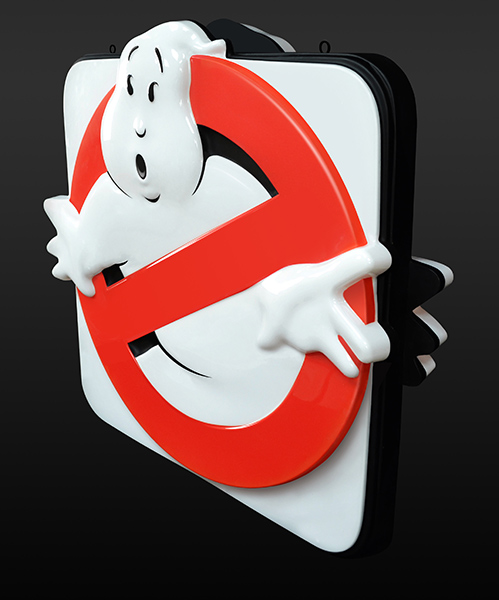 Ghostbusters Sign 002