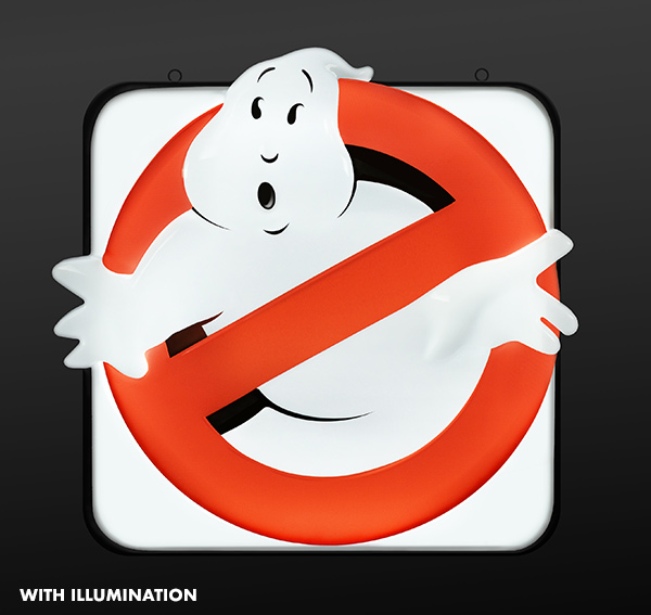 Ghostbusters Sign 005