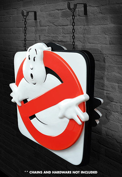 Ghostbusters Sign 007