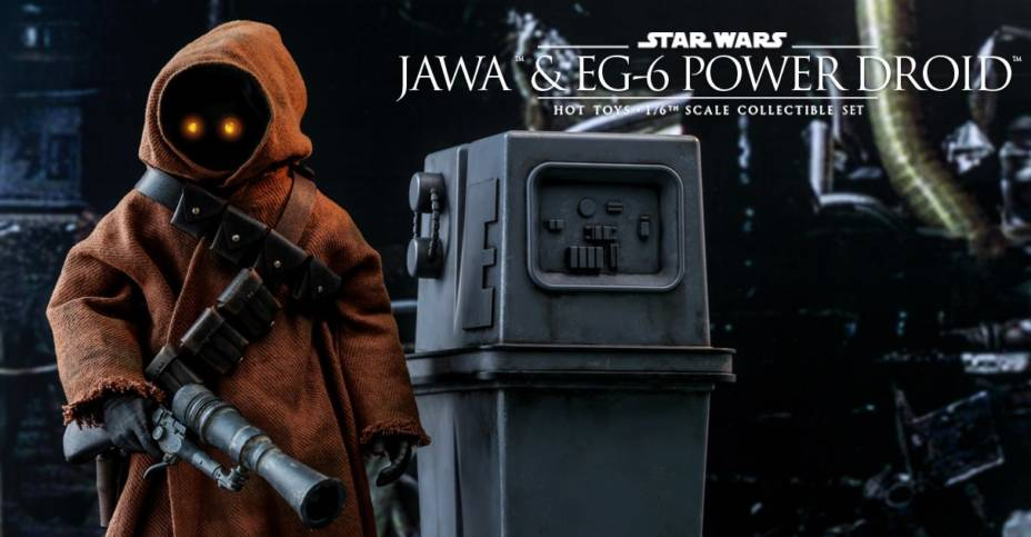 Hot Toys Jawa and Power Droid Set 015