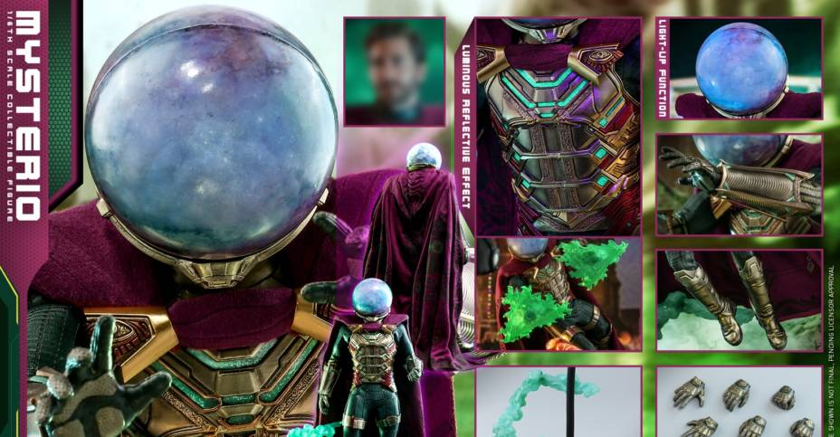 Hot Toys Mysterio Update