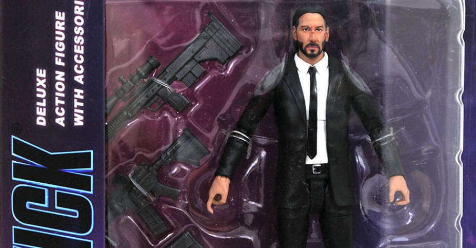 John Wick Select Packaging