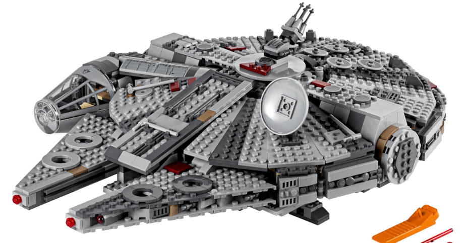 LEGO Millennium Falcon Rise of Skywalker 003