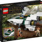 LEGO Resistance A Wing Starfighter 002