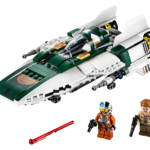 LEGO Resistance A Wing Starfighter 003
