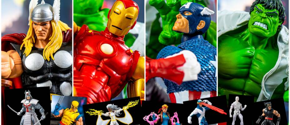 Marvel Legends 80 Years & Retro X-Men Photo Galleries
