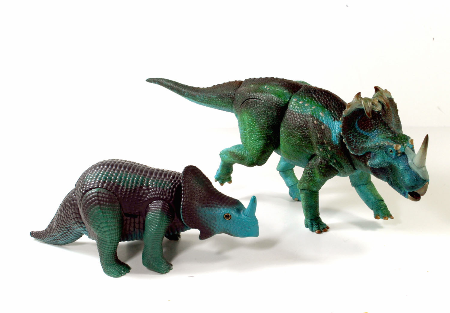 Monoclonius with Dino Riders