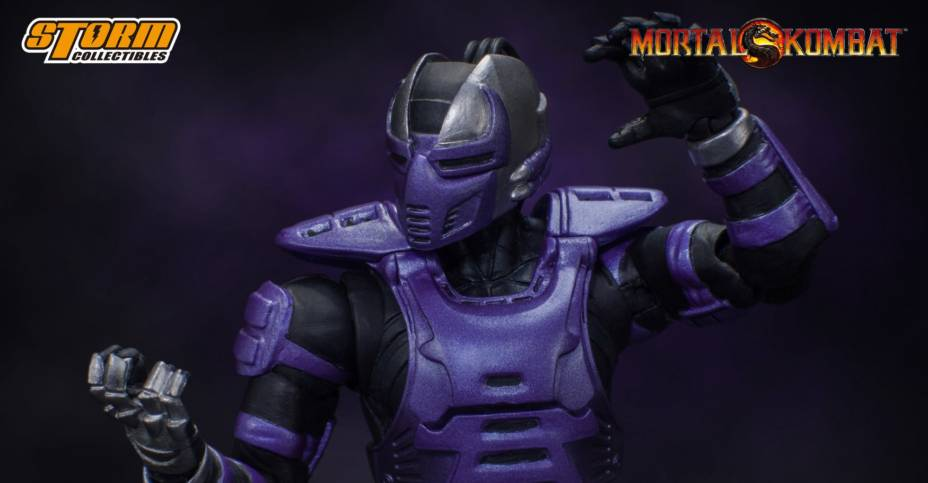 Authentic Licensed Storm Collectible Mortal Kombat RAIN and SMOKE 2-PIECE set