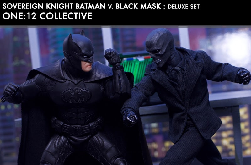 One12 Batman vs Black Mask