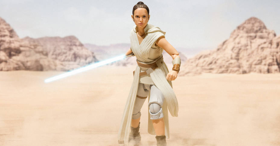 SH Figuarts Rise of Skywalker Rey 009