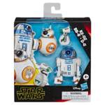 STAR WARS GALAXY OF ADVENTURES 5 INCH R2 D2 BB 8 D O DROID 3 PACK in pck