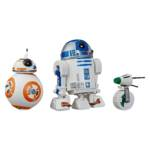 STAR WARS GALAXY OF ADVENTURES 5 INCH R2 D2 BB 8 D O DROID 3 PACK oop
